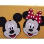 Carinhas Da Minnie E Mickey Com 30 Em Eva