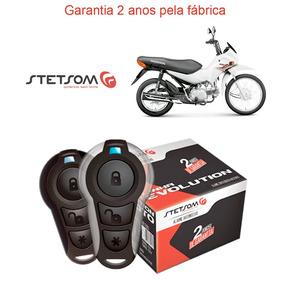 Alarme Presença Honda Pop 100 Todas Stetsom Moto Duplo