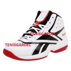 Tenis Reebok Blancos,bomba De Aire White Corredor, Basketbal