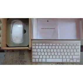 Teclado Y Mouse Inalambrico Original Apple Wireless.