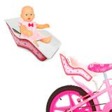 Cadeira De Boneca Baby P/ Bicicleta Infantil Alive