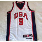 Camisa Basquete Michael Jordan - Seleção Usa - 1984 - Nike