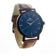 Reloj Stone Original Hombre Malla Cuero Garantia Mod 1059ma