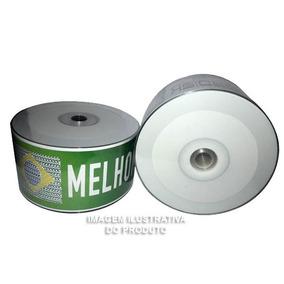 100 Midias Cd-r 700 Mb / 80 Min Deko Printable Promoçao