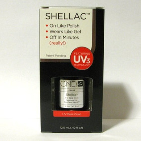 Creative Nail Shellac Uv Base Coat, 0.42 Fluid Ounce