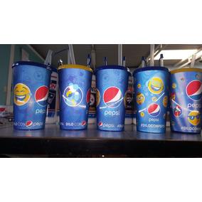 Pepsi Vasos Diloconpepsi De Caritas De Colletion Nuevos