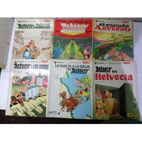 Aventura Asterix Lote X 6 Dargaud Junior Grijalbo