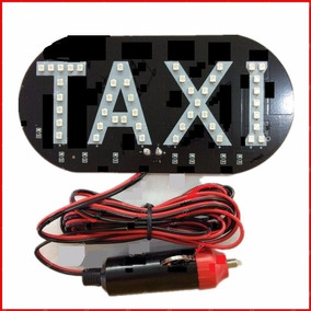 Luminoso Taxi 45 Led Com Plugue Para Acendedor