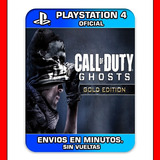 Call Of Duty Ghosts Ps4 Gold Edition Digital Oferton!