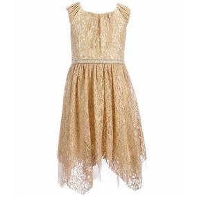 Vestidos De Fiesta Niñas Elegantes Paje Talla 7 Y 8