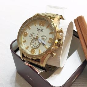 Reloj Fossil Dorado Jr1479 50mm Original