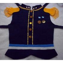 Disfraz San Martin Pechera Pañolenci Niño 1-4 Año Brovillnet