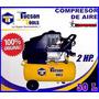 Compresor De Aire Tucson Tools 2 Hp De 50 Litros - Nuevo