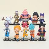 Figuras De Dragon Ball Super, Set De 10 Figuras
