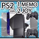 Sony Playstation 2 Flash 2017 + Juegos +1 Año Gtia !