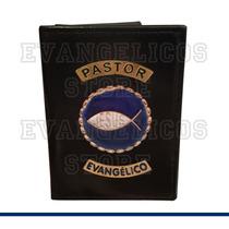 Carteira Pastor Evangélico Luxo B01