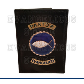 Carteira Pastor Evangélico Luxo C01
