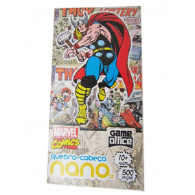 Quebra-cabeça 500 Peças Nano - Marvel Comics - Thor