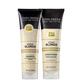 Kit John Frieda Sheer Blonde Duo (2 Produtos) Blz