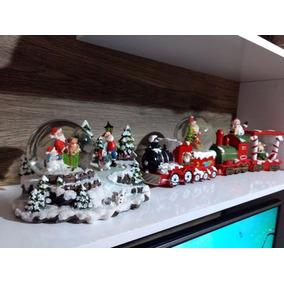 Decoração De Natal Trenzinho Vilinha