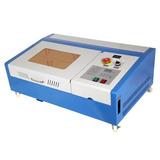 Maquina De Corte Y Grabado Laser Co2 De 40w, 30x20cm