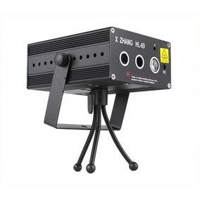 Laser Show Projetor Holográfico Desenhos Hl-69 Rgb Led 250mw