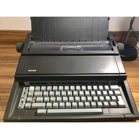 Maquina De Escrever Eletrônica Práxis 201-ii. Raridade