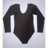 Malla Para Ballet, Flamenco, Tipo Body Manga Larga Talla 6