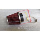 Filtro De Aire De Alto Flujo Conico 48mm Tipo K&n Kn K N