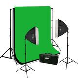 Equipo Fotografico Video Ephoto Softbox, Muselinas Vbf