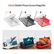 Tela Lupa 3d Para Aumento De Imagem Do Celular 12 Polegadas