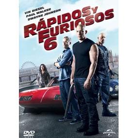 Rapidos Y Furiosos 6 Vin Diesel Pelicula Dvd