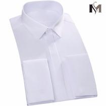 Camisa Punho Duplo Mantie - Abotoadura