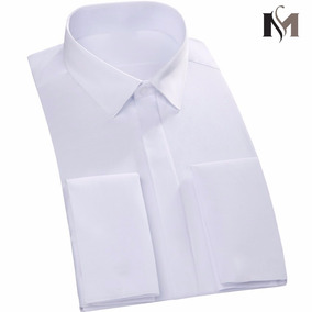 Camisa Punho Duplo Mantie - Abotoadura Promoção Junho