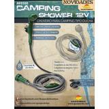 Ducha Ou Chuveiro De Camping Campanha 12 Volts Guepardo