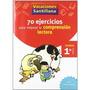 Vacaciónes Santillana, Lectura, Comprensión Lectora, 1 Educ