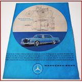 Dante42 Publicidad Antigua Retro Auto Mercedes Benz 1961