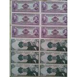 50 Billetes Antiguos De Venezuela 10 Y 20 Bs Sin Circular