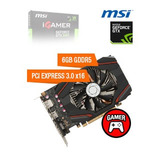 Tarjeta De Video Msi Nvidia Geforce Gtx 1060 Igamer, 6gb Gdd