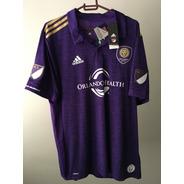 Camisa Jersey Oficial Do Orlando City adidas Tamanho Gg (xl)