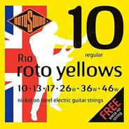 Encordado Guit. Eléct. Rotosound Roto Yellows R10 010-046