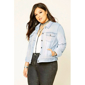 Campera Jean Forever 21 Talle Especial