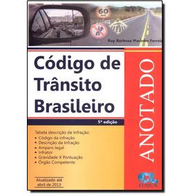 Código De Trânsito Brasileiro Anotado