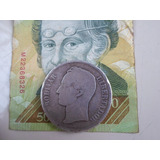 Moneda D Plata D 1888 F Ley 900 Estados Unidos D Venezuela
