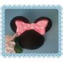Adorno Para Tortas Cabeza Orejas Minnie Mickey