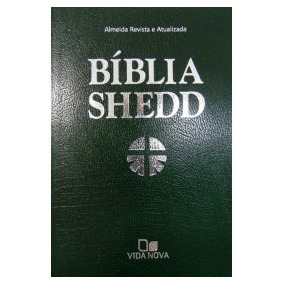 Bíblia De Estudo Shedd Luxo - Verde