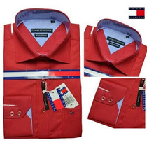 Camisa Social Tommy Hilfiger Todas As Cores Originais