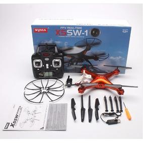 Drone Syma X5sw Original Fpv Câmera Wifi + 2 Motores