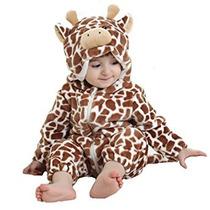 Disfraz Para Niños Tonwhar Unisex-bebé Onesie Traje Animal