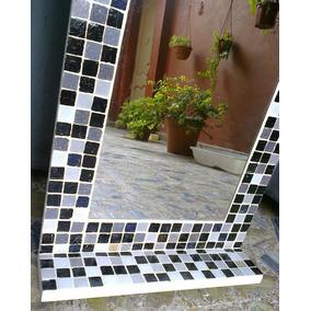 Espejo Venecitas 50 X 70 + Estante .decoracion Baño